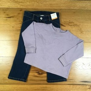 NWT Gymboree Girls Sweatshirt and Jeans